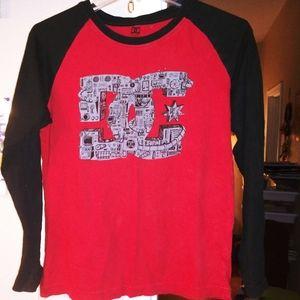 Girls Ling Sleeve DC Shirt
